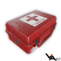 First Aid Medical Kit ( low poly )