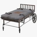 prison bed 3D models