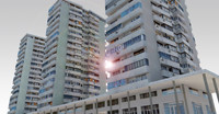3ds buildings communist residential towers