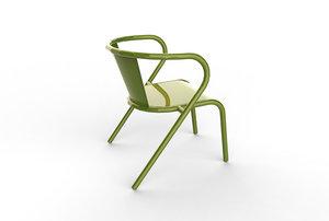 3d model portuguese chair