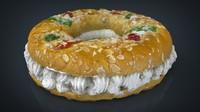 3d kings cake