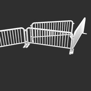 simple safety barrier obj