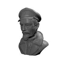 3d dzerzhinskii bust model