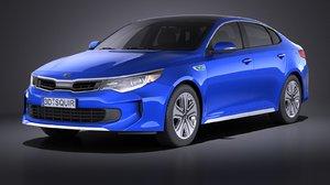 3d hybrid kia 2017 model