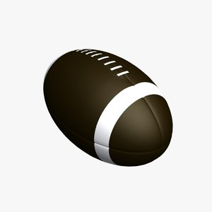 3d football model