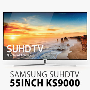samsung ks9000 suhd 3d model