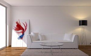 room living 3d model