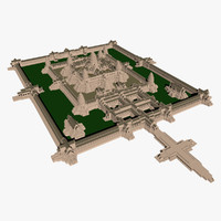 3d angkor wat model