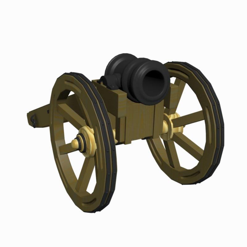 max mortar cannon