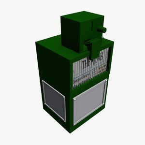 newspaper vending machine 3d 3ds