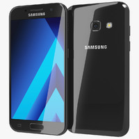 Samsung Galaxy A3 2017 Black Sky