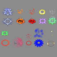 Isometric Auras Animated Effects 2