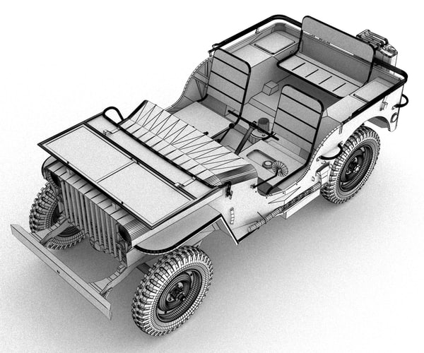 max jeep willys 1941