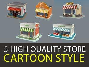 3d model of shop v3