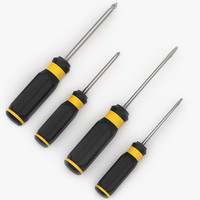 3d obj screwdrivers design modeled