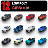 cuvs traffic games 3d model