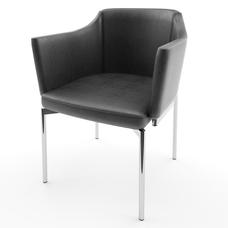 dusty seats modern 3d model