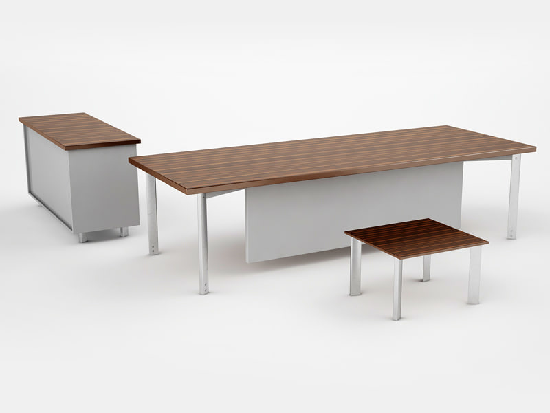 design office desk 3d model