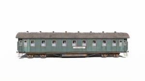 3d model soviet vagon