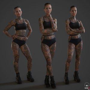 fbx tattoo people printing