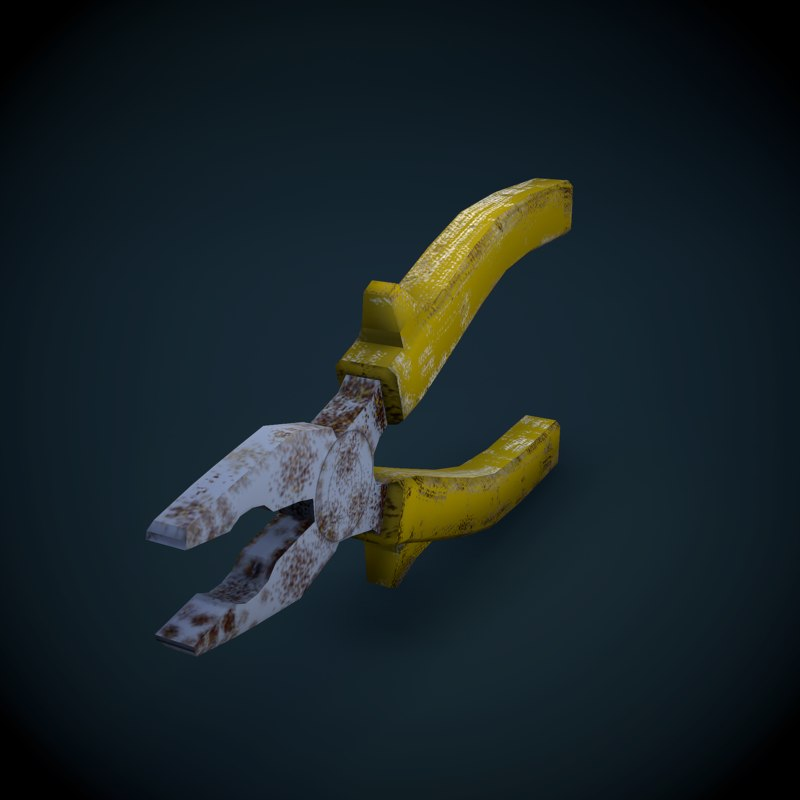 tools pliers 3ds