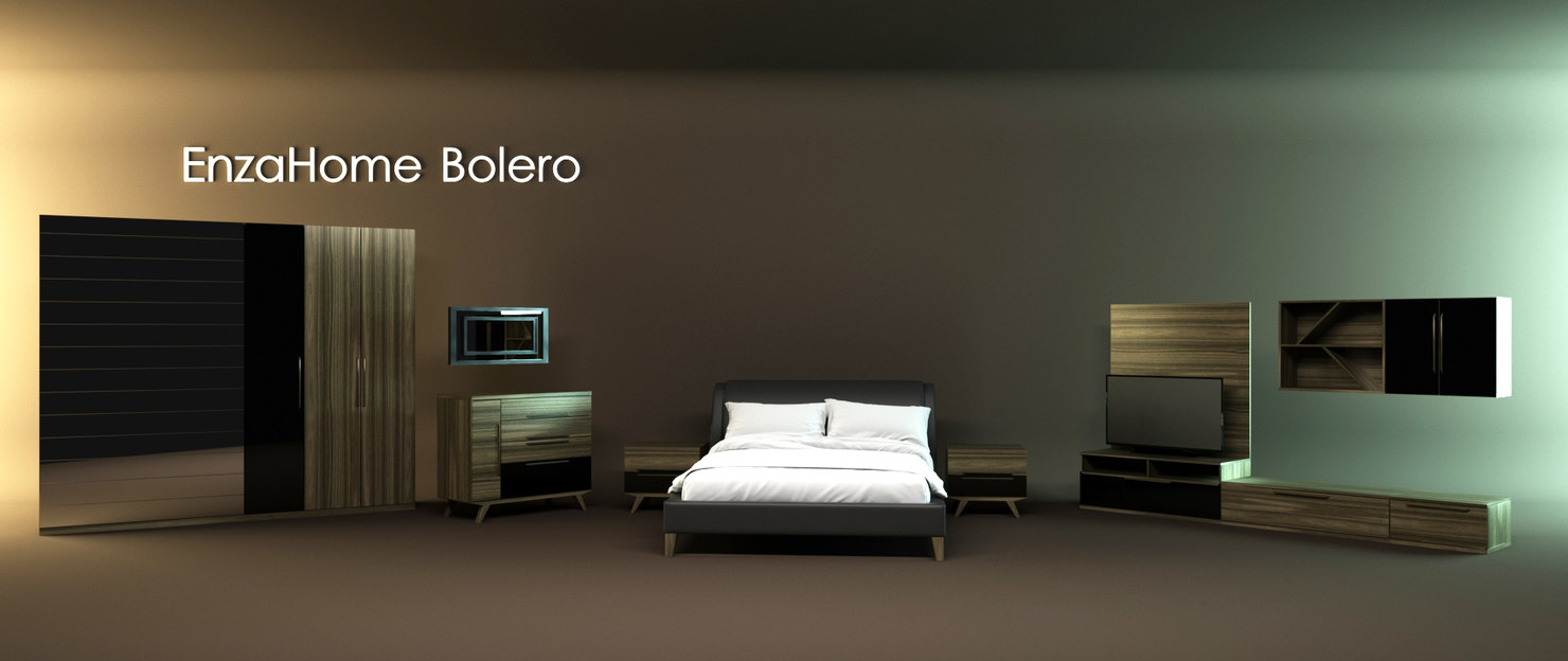 bolero furniture set 3d x