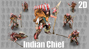 2D indian Chief