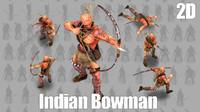 2D Indian Bowman