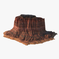 arizona mountain 3d max