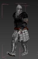 3d model knight mate