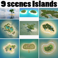 Collection Islands Scenes