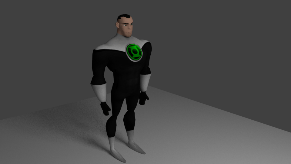 green lantern blend