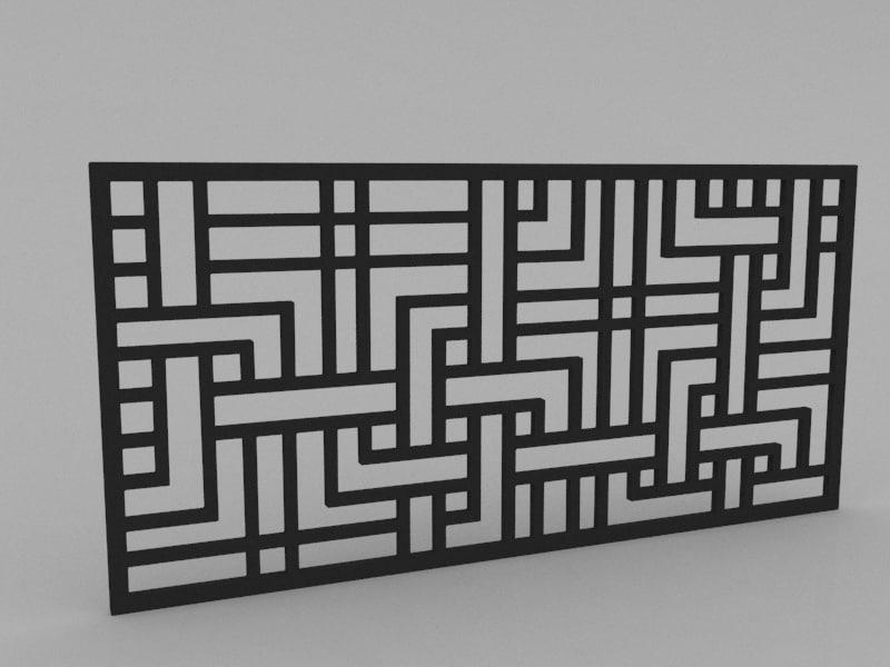 3d partition model