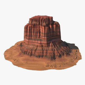 3d arizona mountain