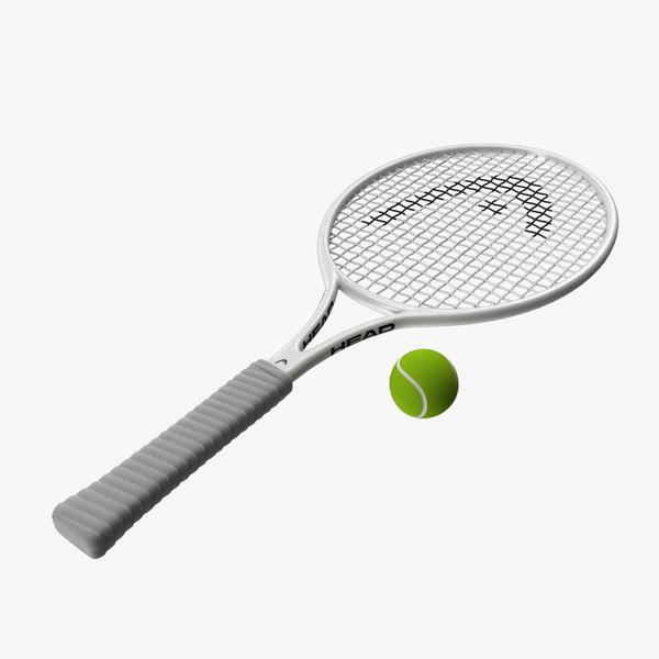 3d model racket