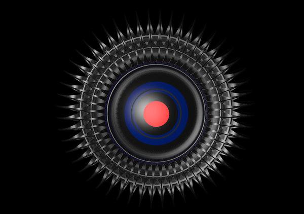 cyber eye 3d model