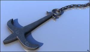 3d anchor model