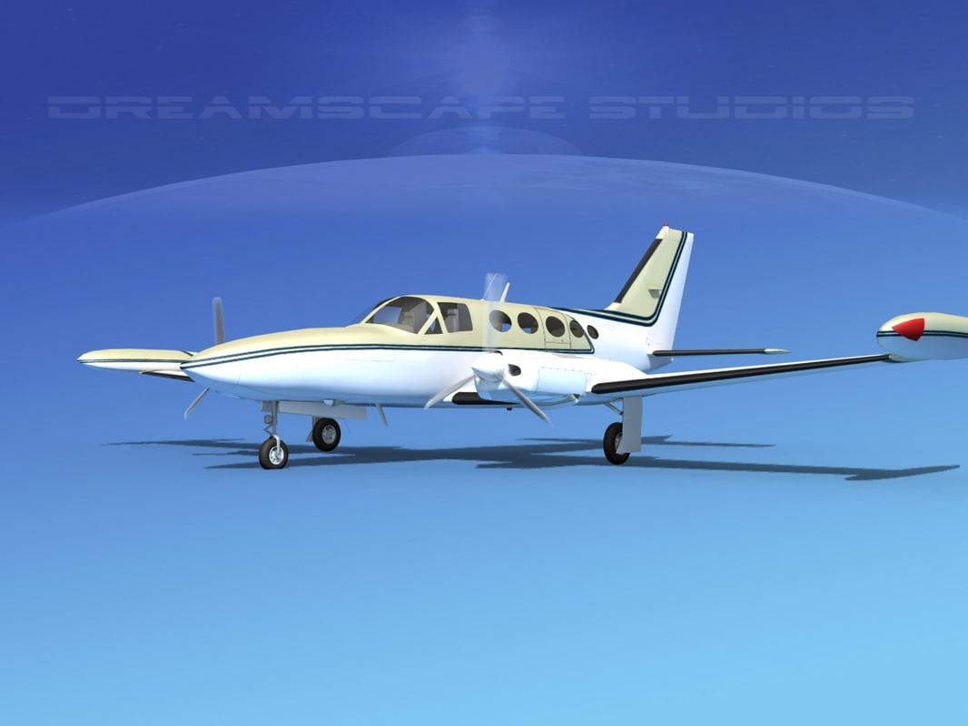 propellers cessna 414 chancellor dxf