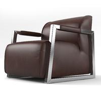 mhliving mica armchair 3d obj