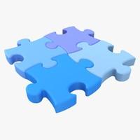puzzle 02 3d model