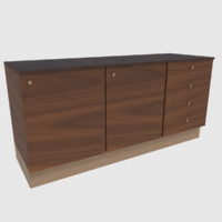 obj ready cabinet - games