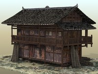 Old Wood House 1