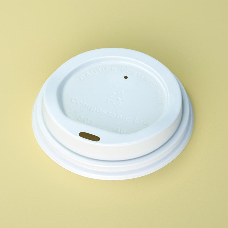 3d closeup coffee lid