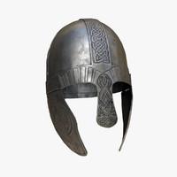 Viking helmet PBR
