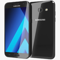 3d model realistic samsung galaxy a5