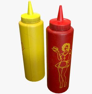 max mustard ketchup