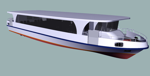 passenger ship 3d 3ds