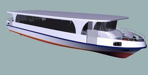 passenger ship 3d 3ds