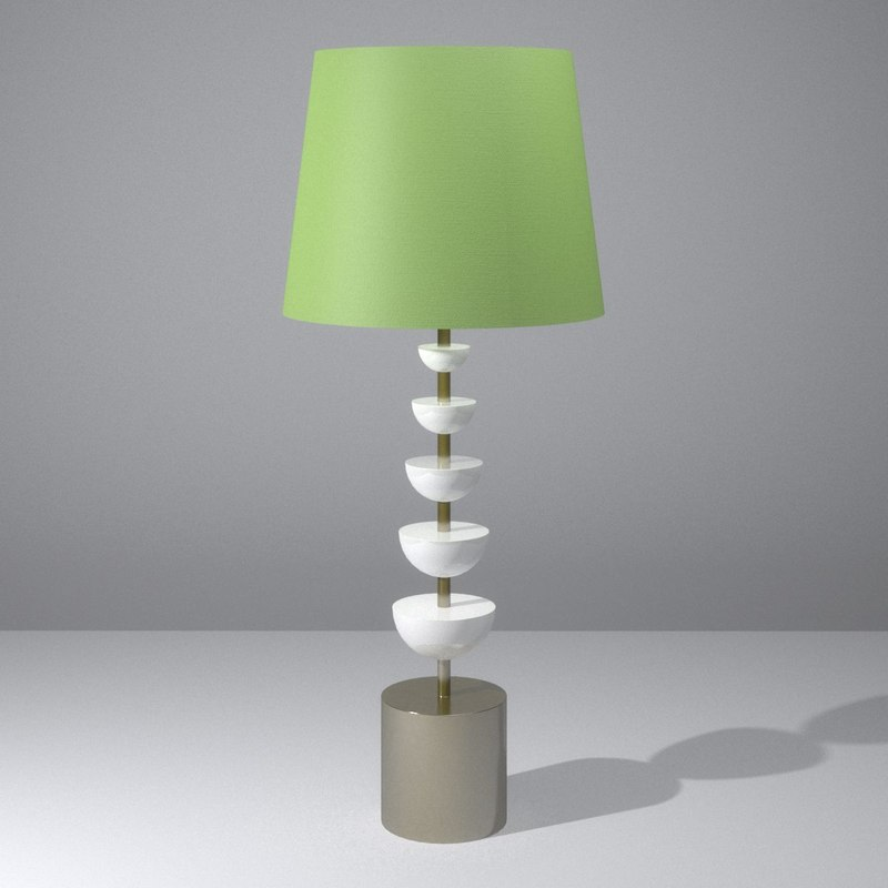 ornate lamp 3ds