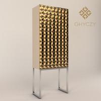 ghyczy biri cabinet c03 3d model